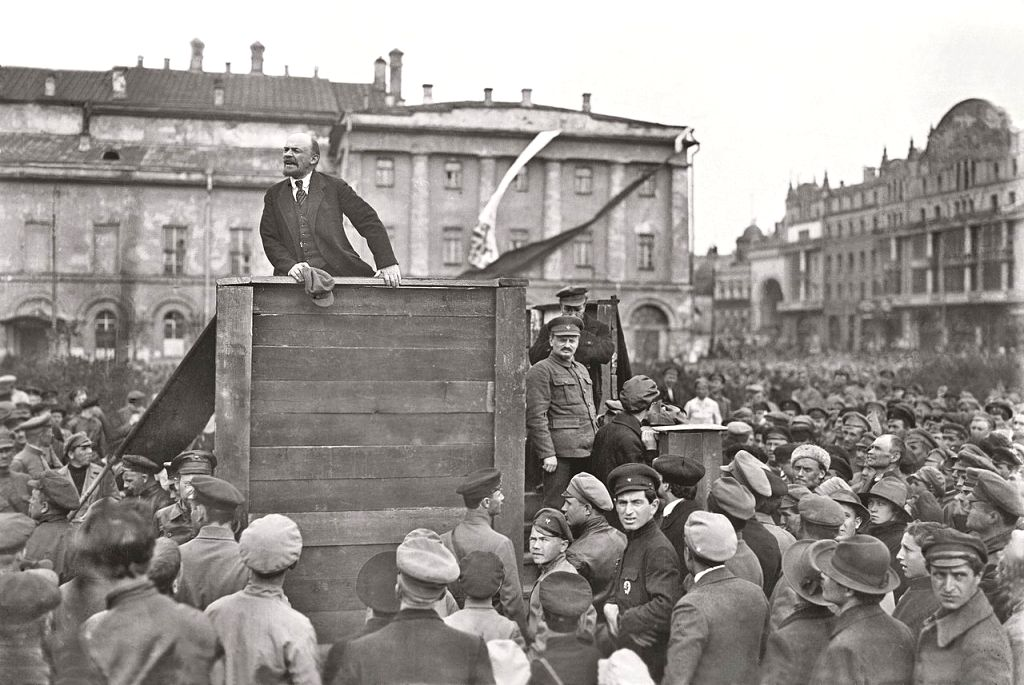 Lenin, the Russian Bolshevik leader - is he a part of history or does he enjoy any relevance today too?