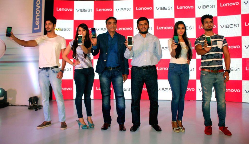 "Lenovo launches ""Vibe S1"" in New Delhi, on Nov 23, 2015."