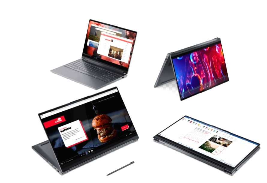 Lenovo refreshes Yoga laptop series, unveils Legion gaming device.
