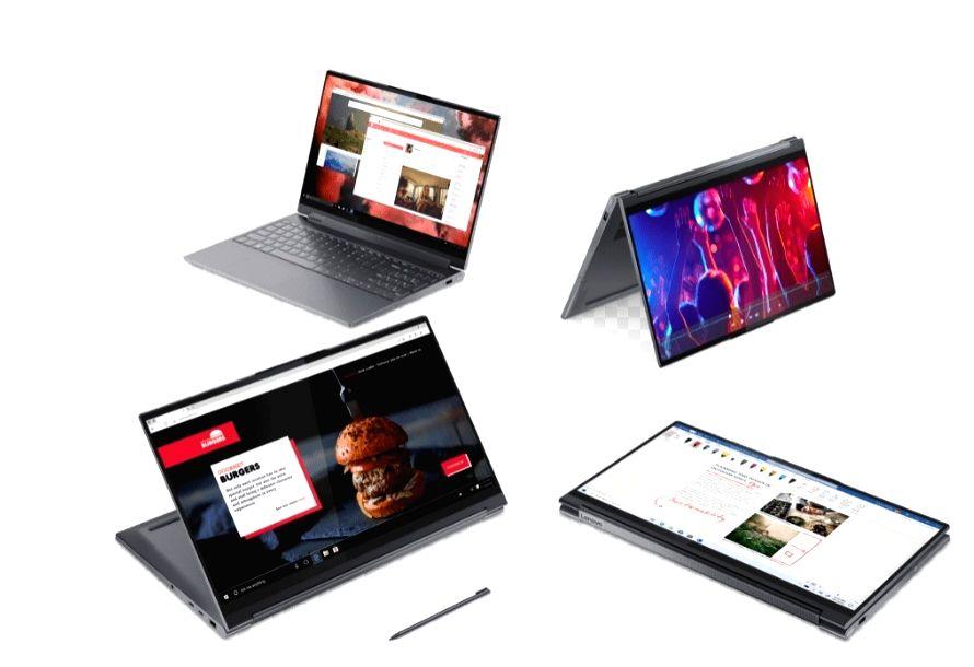 Lenovo refreshes Yoga laptop series, unveils Legion gaming device.
