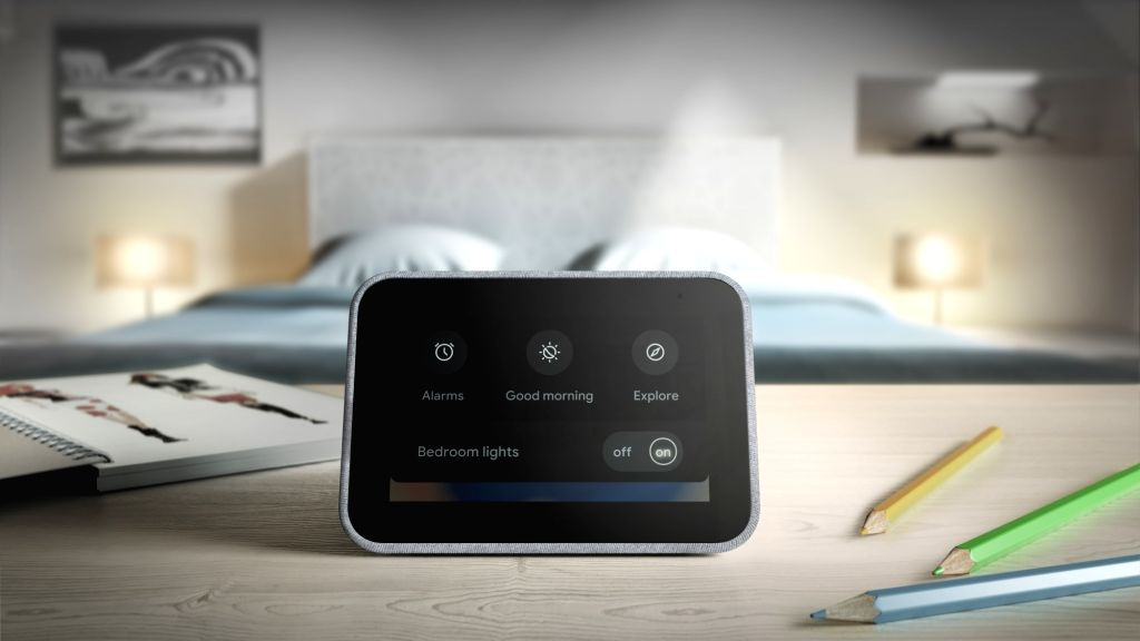 Lenovo Smart Clock.