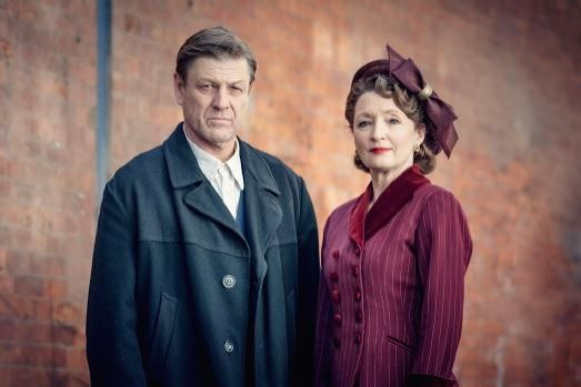 Lesley Manville, Sean Bean open up on 'World On Fire'.
