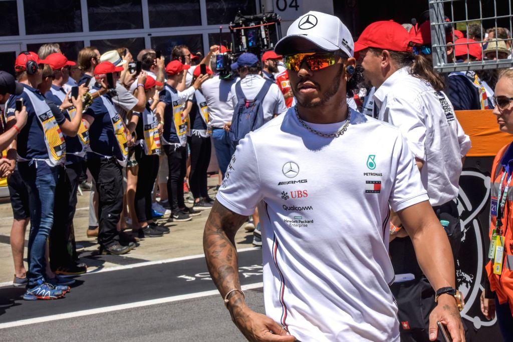 Lewis Hamilton. (Xinhua/Guo Chen/IANS)