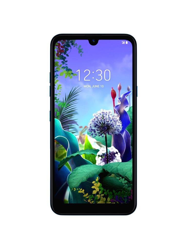 LG Q60 smartphone.