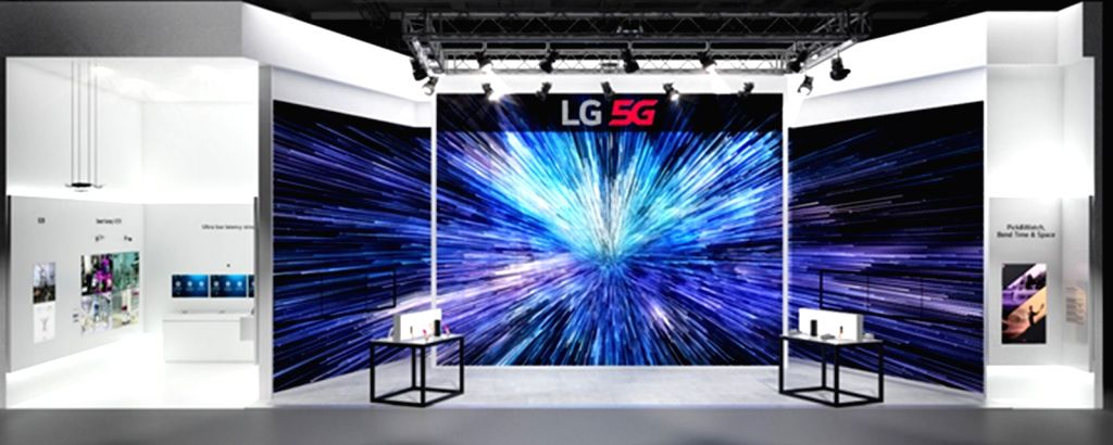 LG Uplus, South Korea's third-biggest wireless services provider, attends the Mobile World Congress 2019 due to open in Barcelona from Feb. 25-28 to promote its 5G network and other ...
