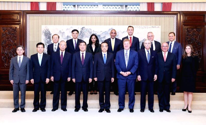Li Khayang met with representatives of American entrepreneurs