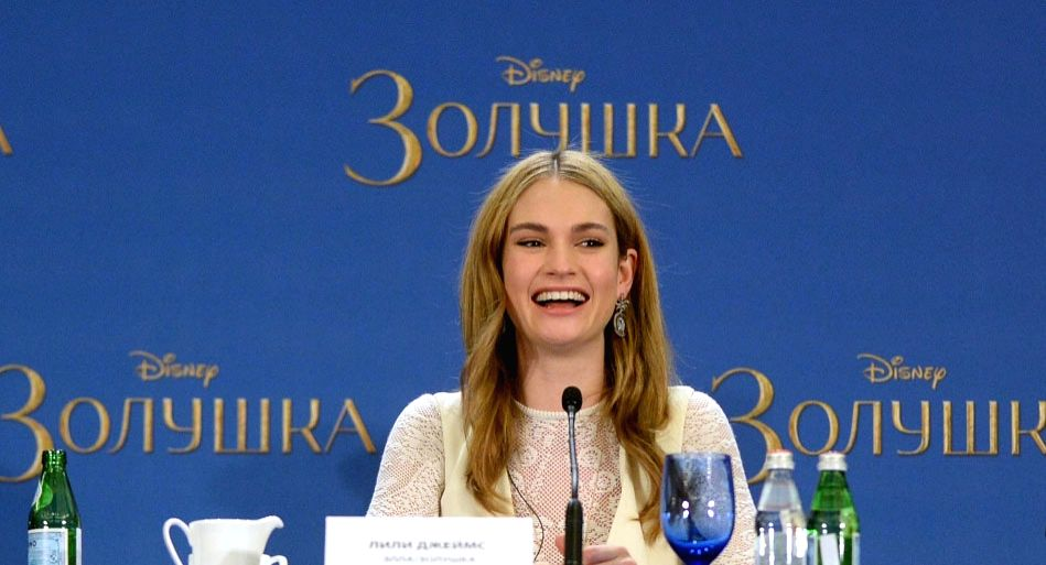 Lily James. (File Photo: IANS)