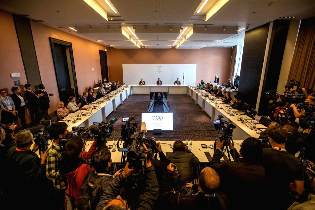 LIMA, Sept. 12, 2017 - The International Olympic Committee (IOC) holds its Executive Board meeting in Lima, Peru, on Sept. 11, 2017. The two-day IOC Executive Board meeting kicked off in Lima on ...