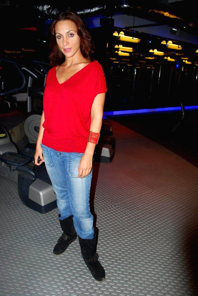 Linda at Baqar's Spinnathon event.