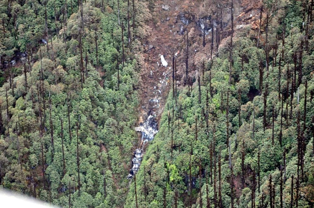 Lipo: The wreckage of the the AN-32 aircraft that crashed in Arunachal Pradesh on June 3 was spotted at an approximate elevation of 12,000 feet 16 km north of Lipo, northeast of Tato under West Siang district of Arunachal Pradesh. The Indian Air Forc