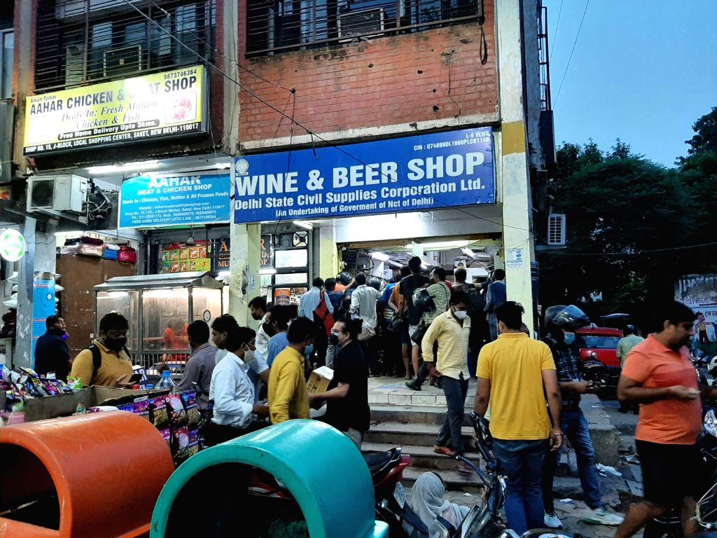 Liquor crisis
