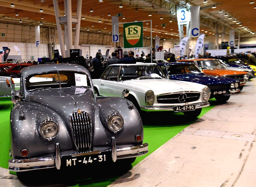 LISBON, April 7, 2018 - Classic cars are seen during the 13th Lisbon Classic Car Show in Lisbon, Portugal, on April 6, 2018. The 3-day event opened on Friday in Lisbon.