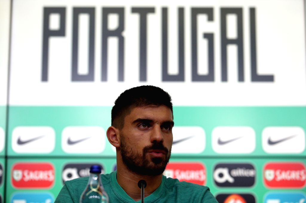 LISBON, Sept. 3, 2019 - Portugal's midfielder Ruben Neves attends a press conference before Portugal's national football team training session ahead of the UEFA EURO 2020 qualifying round  Group B ...