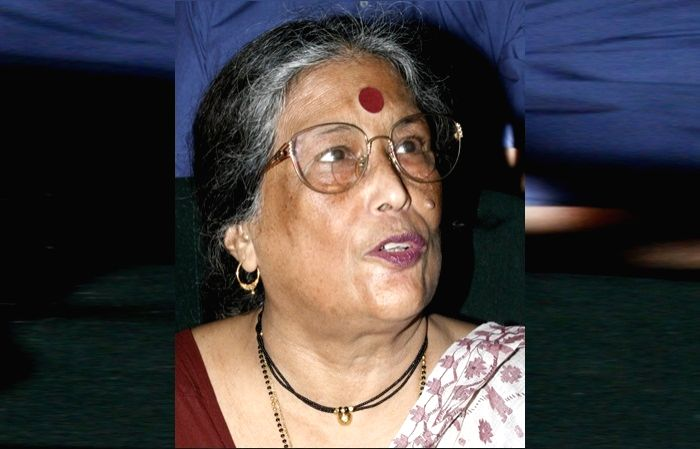 Litterateur and academician Nabaneeta Dev Sen died at her South Kolkata residence after a protracted illness, on the evening of Nov 7, 2019. She was 81. (File Photo: IANS) - Nabaneeta Dev Sen