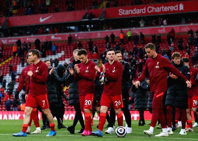 Liverpool, Chelsea confirm Champions League place, Leicester miss out.(Credit: Liverpool twitter)