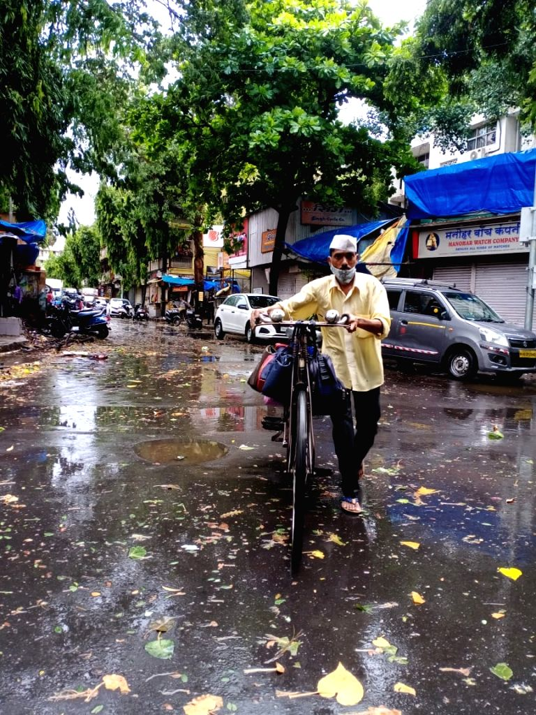 Living up their aal-weather service reputation, Mumbai's world-famous Dabbawalas were out delivering lunch boxes to thousands of customers, braving the fury of Cyclone Tauktae, said the Dabbawalas ...