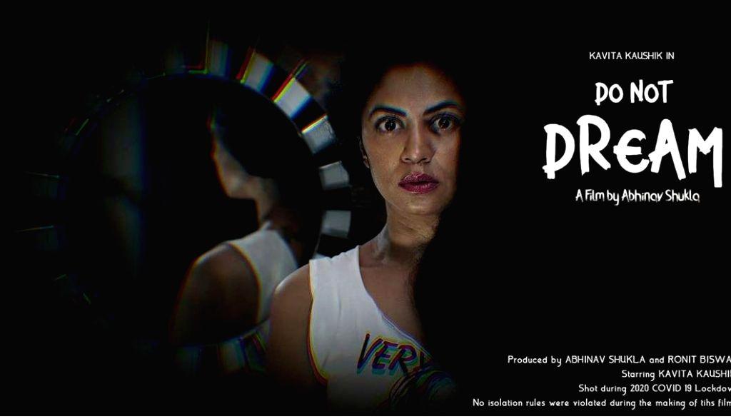 Lockdown diaries: Kavita Kaushik shoots horror short at home.