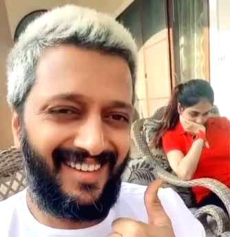 Lockdown diaries: Riteish-Genelia recreate 'Saajan' magic on TikTok.