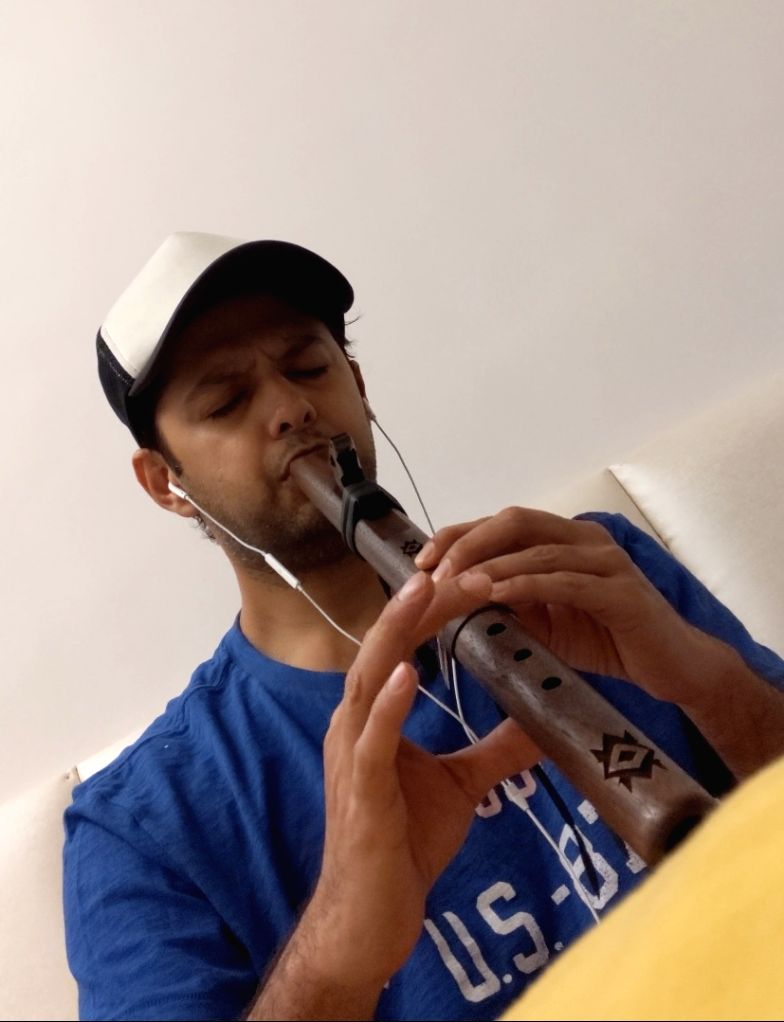 Lockdown diaries: Vatsal Sheth always wanted to learn playing flute.