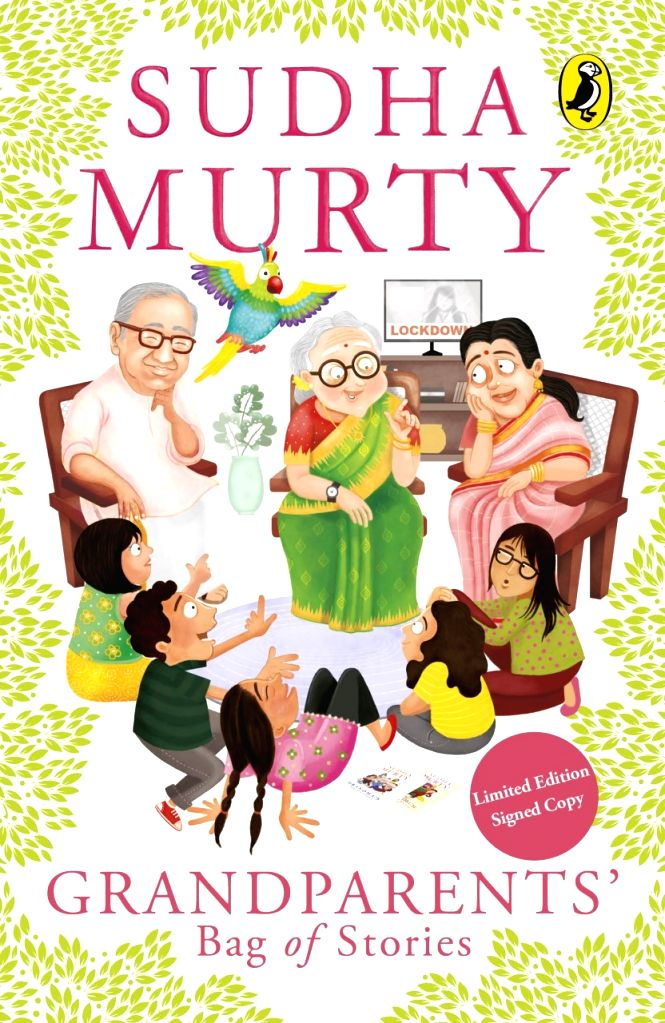 Lockdown inspired Sudha Murty relive her childhood with 'Grandparents' Bag of Stories'
