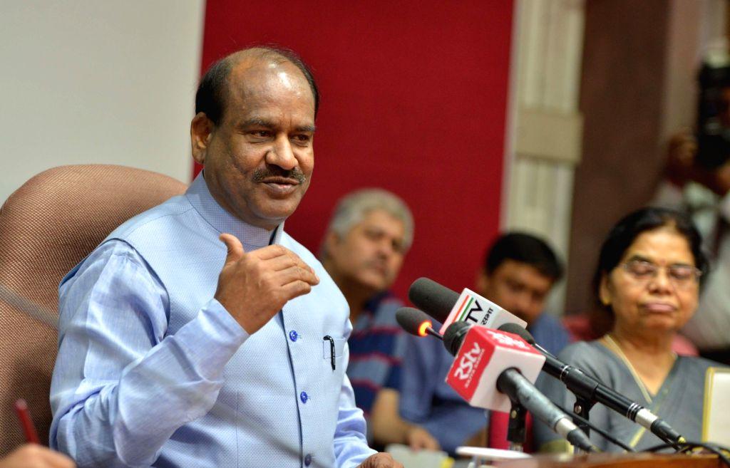 Lok Sabha Speaker Om Birla. (Photo: IANS) - O