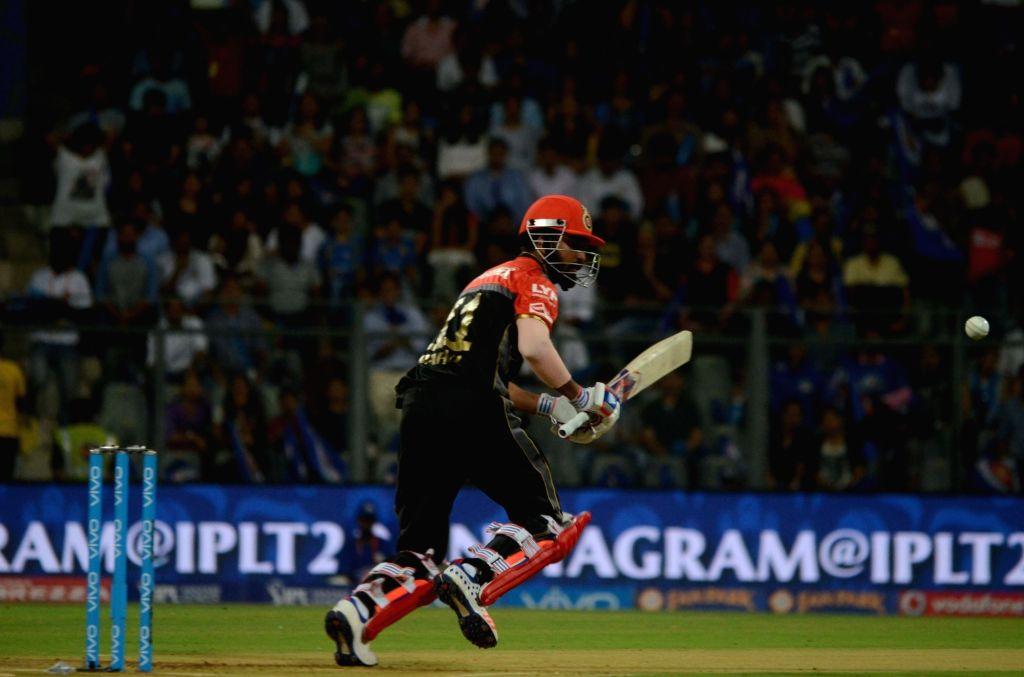 Lokesh Rahul of Royal Challengers Bangalore in action during IPL match between  Mumbai Indians and Royal Challengers Bangalore at Wankhede Stadium in Mumbai on April 20, 2016. - Lokesh Rahul