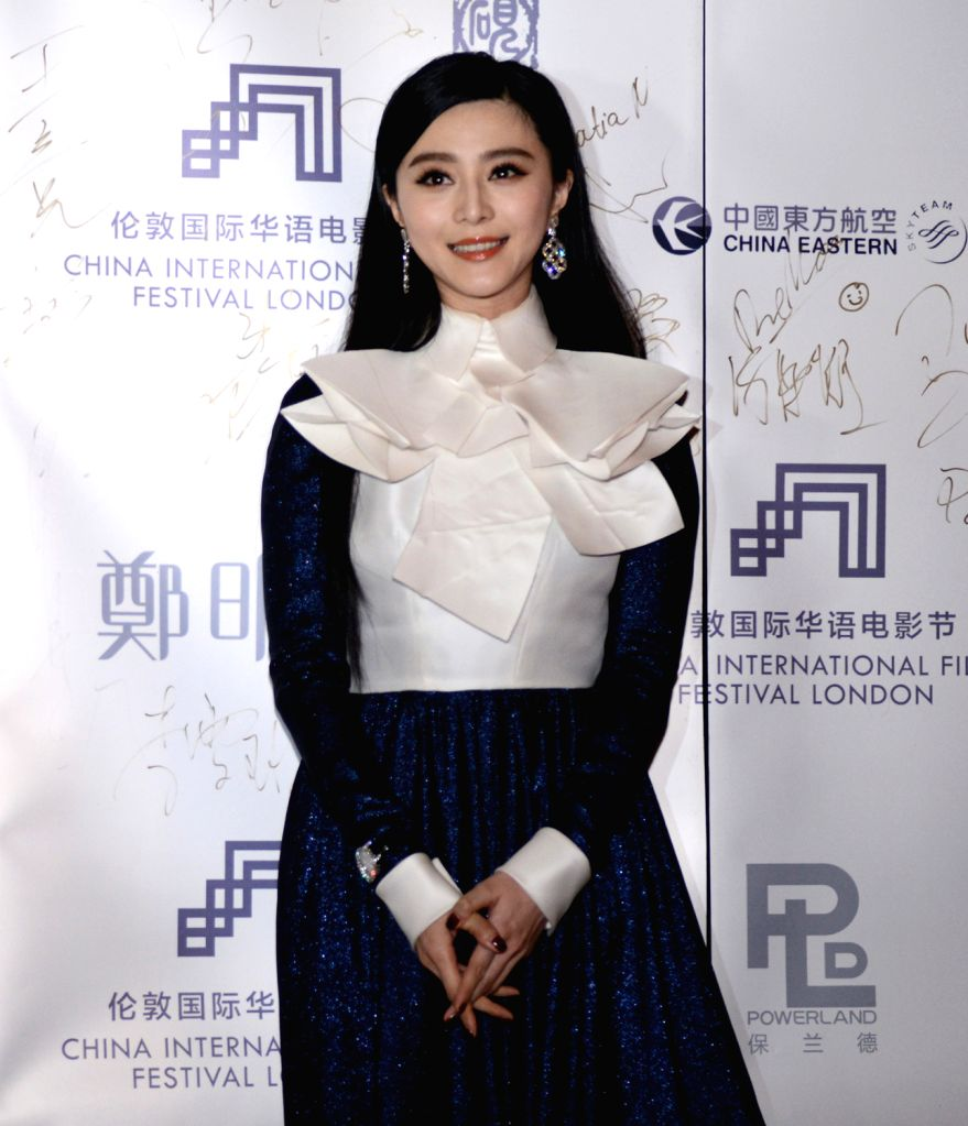 Actress Fan Bingbing attends the 1st China International Film Festival at the Central Hall Westminster in London, Britain, Dec. 6, 2013. - Fan Bingbing