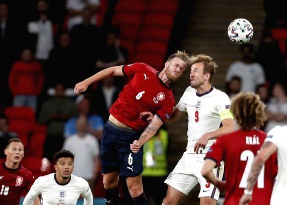 London: England vs Czech Republic (Xinhua/Han Yan/IANS)