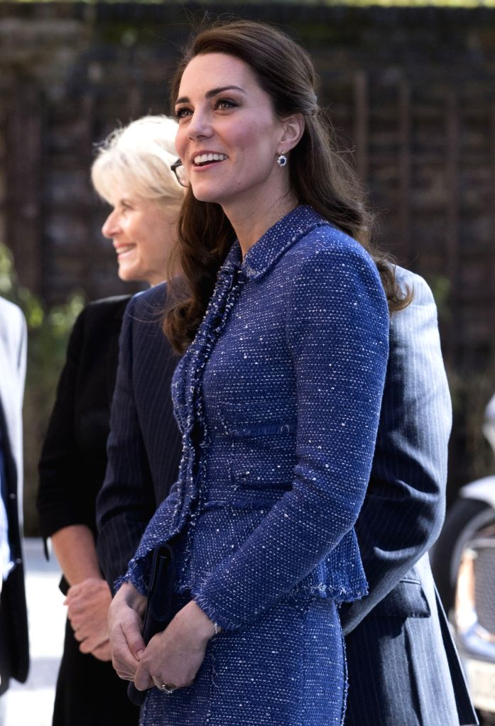 """LONDON, Feb. 28, 2017 - Britain's Duchess of Cambridge Kate (Front) arrives at Ronald McDonald House Evelina London to officially mark the opening of the new """"home away from home"""" ..."""