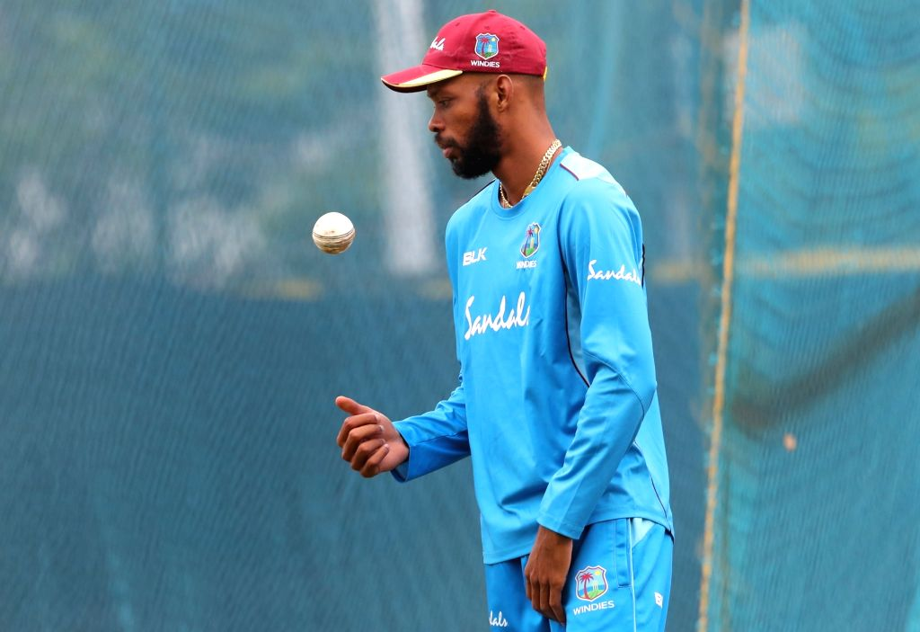 London, June 21 (IANS) West Indies all-rounder Roston Chase has set his sights on scoring at least one century in their upcoming three-match Test series in England. Chase had scored one century in West Indies' remarkable series win over England last