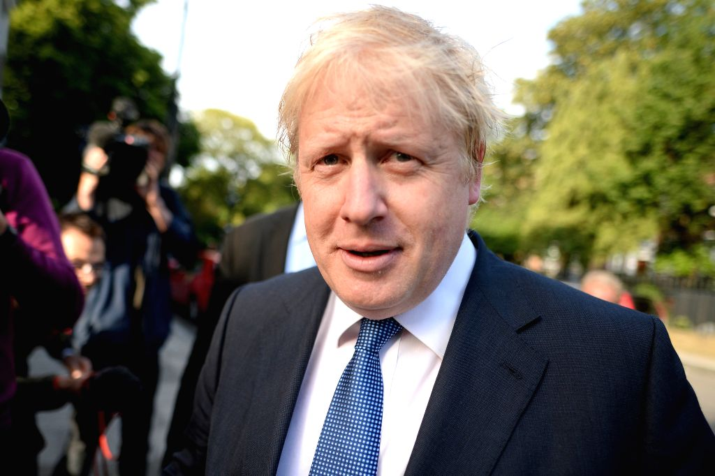 LONDON, June 28, 2016 - Leading Brexit campaigner Boris Johnson leaves his home in London, Britain on June 28, 2016. Boris Johnson tried on Sunday to drive home future efforts to intensify ... - David Cameron