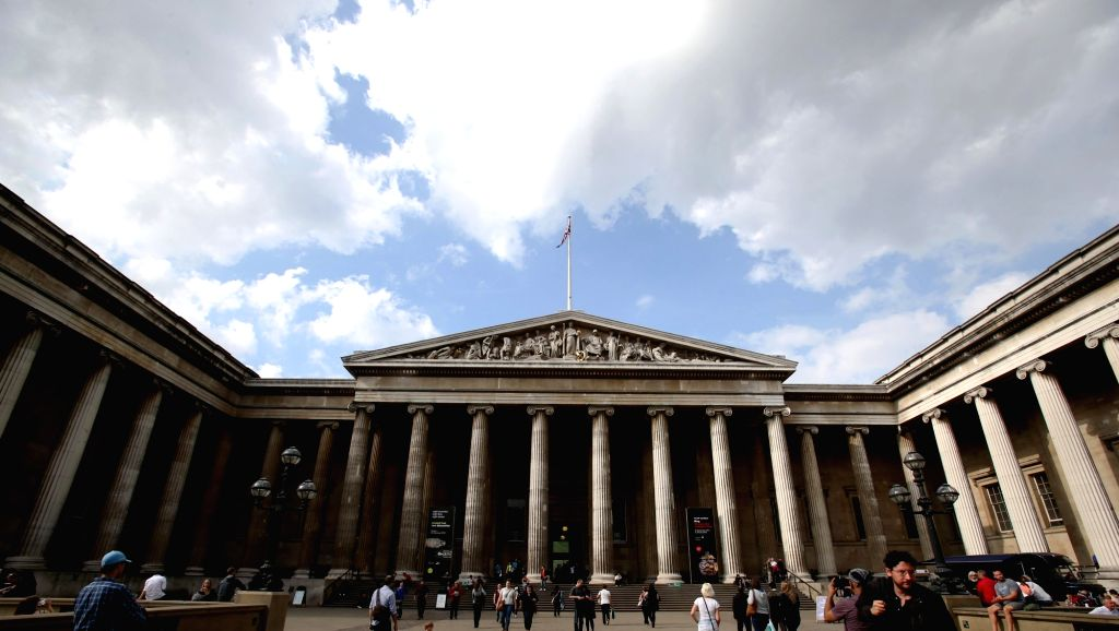 LONDON, May 18, 2016 - File Photo taken on Sept. 15, 2014 shows the British Museum in London, Britain. International Museum Day is celebrated every year on or around May 18 under the coordination of ...