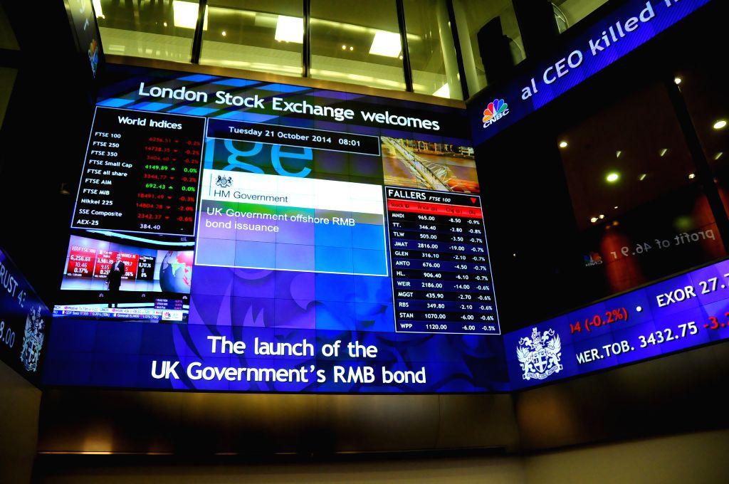 London Stock Exchange (LSE). (Xinhua/Wu Xintao/IANS)