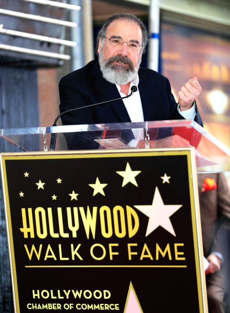 LOS ANGELES, Feb. 13, 2018 - Actor Mandy Patinkin attends a star honoring ceremony on the Hollywood Walk of Fame in Los Angeles, the United States, Feb. 12, 2017. Mandy Patinkin was honored with a ... - Mandy Patinkin