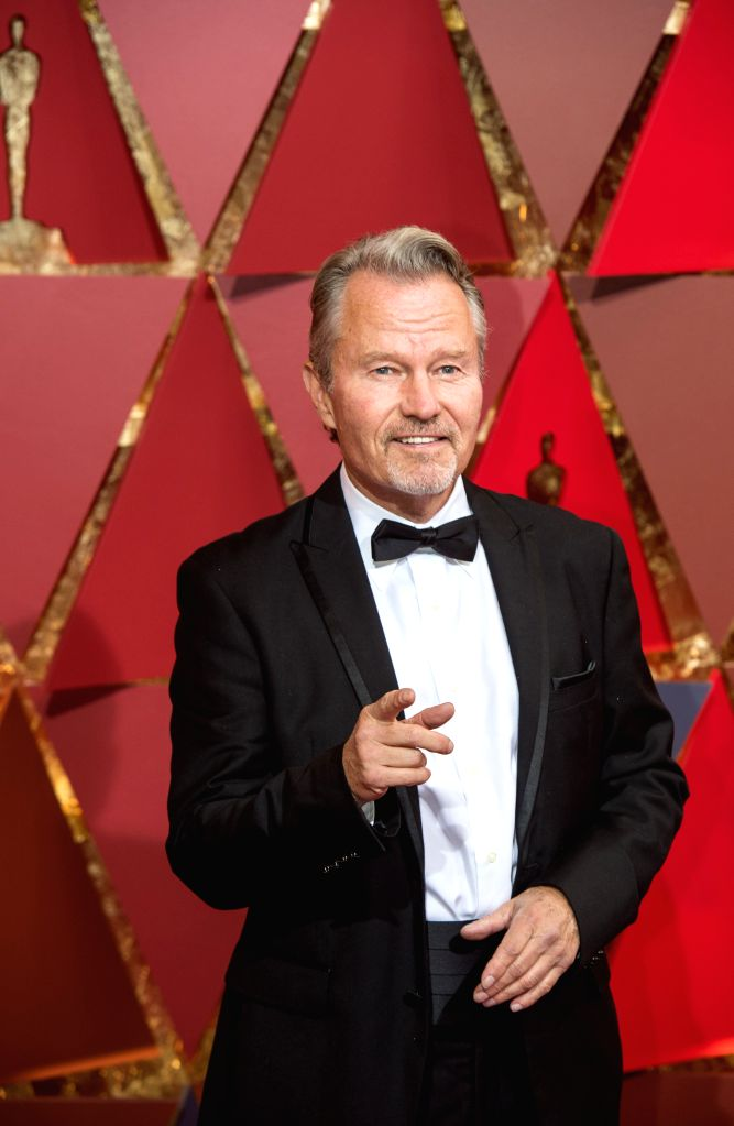 LOS ANGELES, Feb. 27, 2017 - Actor John Savage arrives for the red carpet of the 89th Academy Awards at the Dolby Theater in Los Angeles, the United States, on Feb. 26, 2017. - John Savage