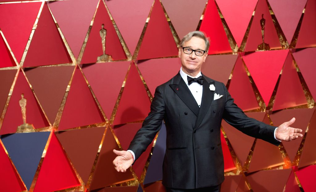LOS ANGELES, Feb. 27, 2017 - Director Hannes Holm arrives for the red carpet of the 89th Academy Awards at the Dolby Theater in Los Angeles, the United States, on Feb. 26, 2017.