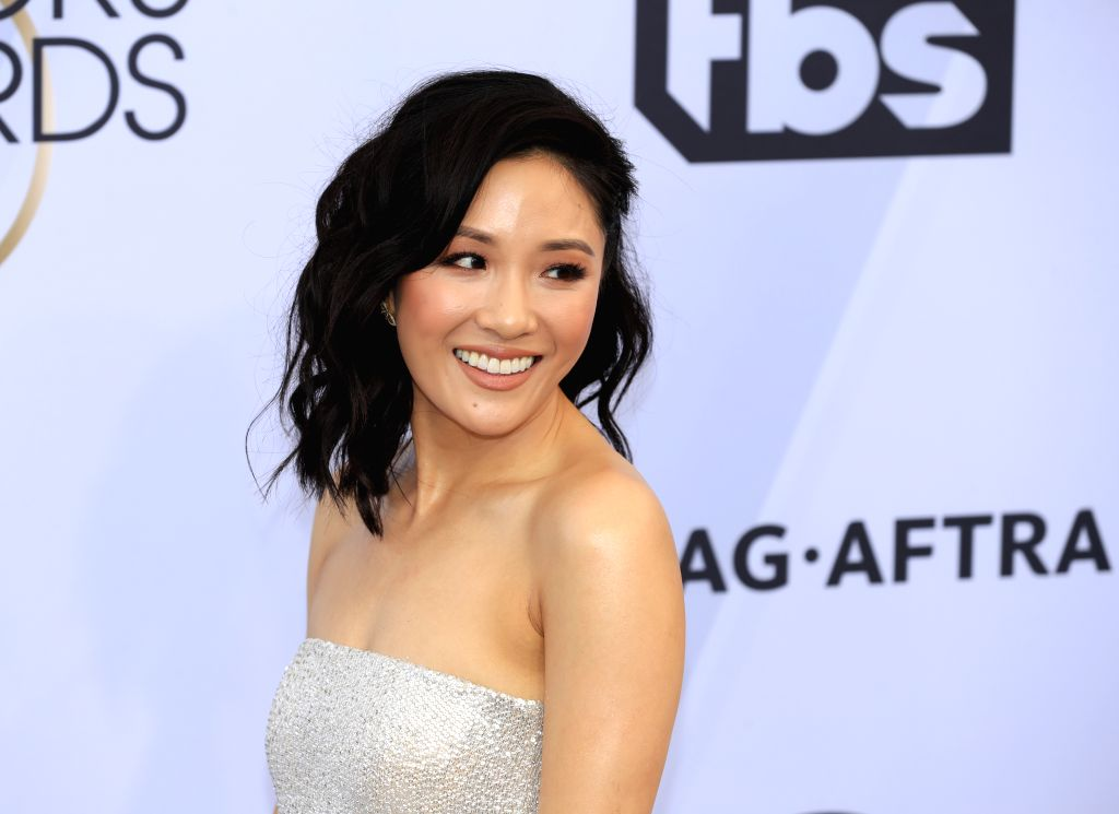LOS ANGELES, Jan. 28, 2019 (Xinhua) -- Actress Constance Wu arrives for the 25th Annual Screen Actors Guild Awards at the Shrine Auditorium in Los Angeles, the United States on Jan. 27, 2019. (Xinhua/Li Ying/IANS) - Constance W and Guild Awards