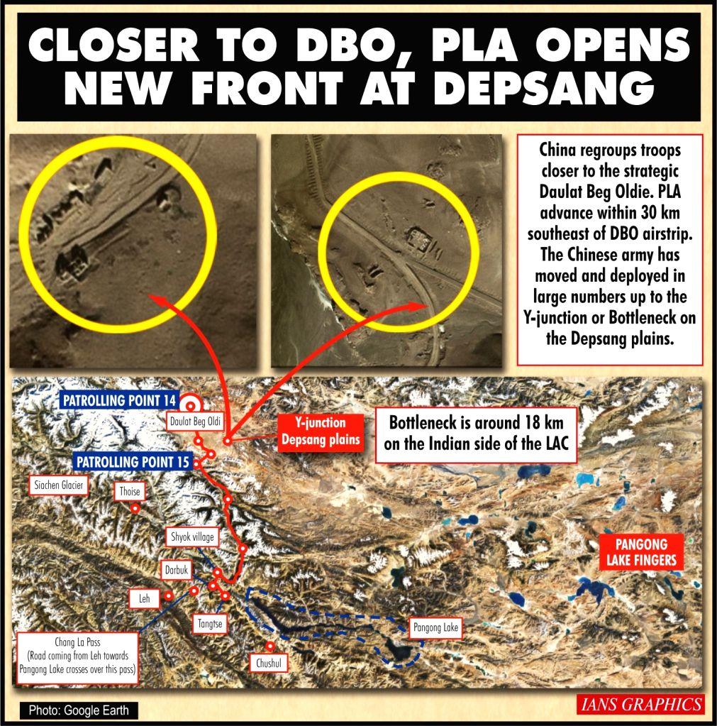 loser to DBO, PLA opens new front at Depsang.