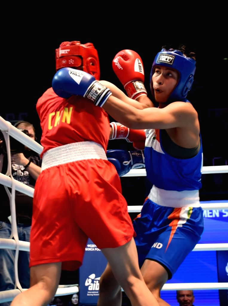 Lovlina Borgohain lost to her opponent from China and settled for her second consecutive Bronze Medal at the AIBA World WOmen's Boxing Cahmpionships 2019 in Russia.