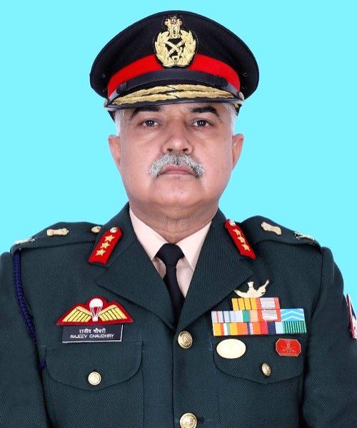 Lt Gen Rajeev Chaudhary. - Rajeev Chaudhary