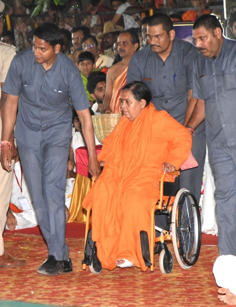 Lucknow, July 4 (IANS) Bharatiya Janata Party (BJP) national vice president and former Union Minister Uma Bharti has claimed that the Congress in Madhya Pradesh is finished and the BJP will win all the seats in the upcoming assembly by-elections. - Uma Bharti