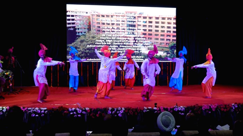 Ludhiana: Artistes perform at the inauguration of new building of Alternative Dispute Resolution (ADR) Centre, Ludhiana and District Courts complex, on Sep 21, 2019. (Photo: IANS)