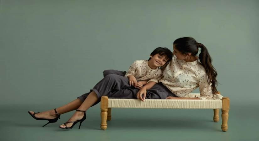 Luxury kidswear designer calls for a sustainable 'new normal'.
