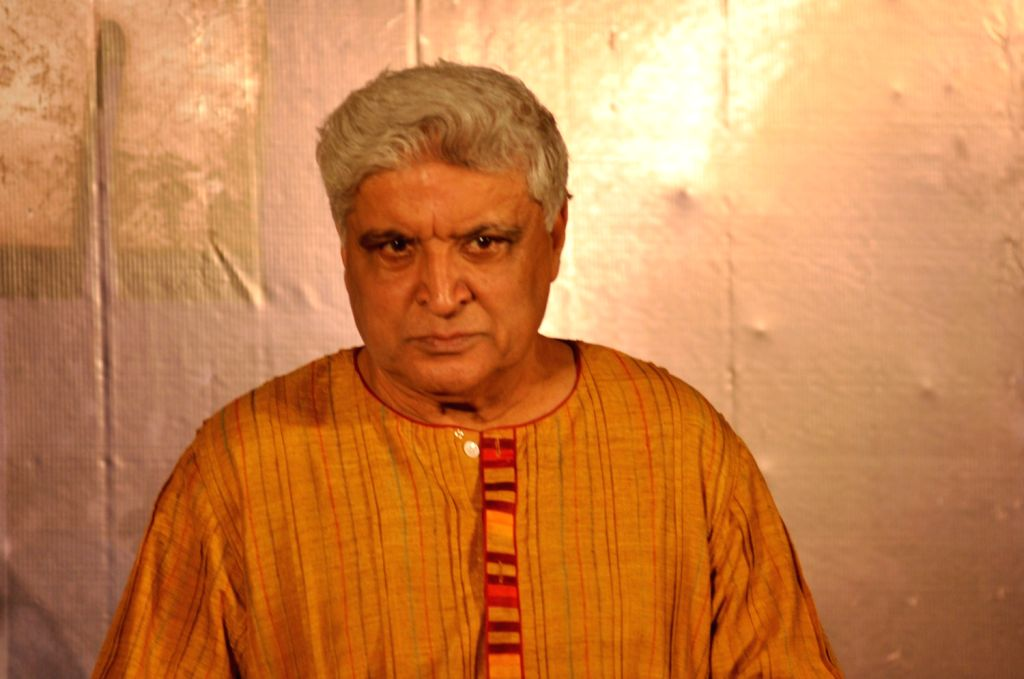 Lyricist Javed Akhtar during the trailer launch of film Wazir in Mumbai on Nov 18, 2015. - Javed Akhtar