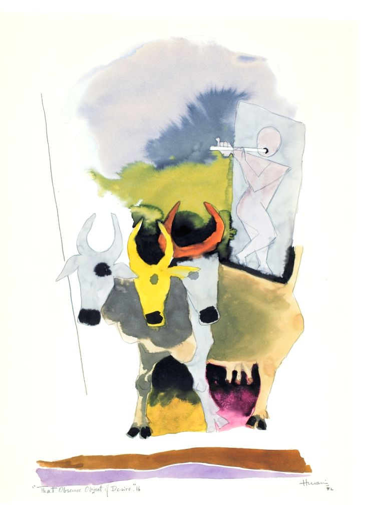 M. F. HUSAIN - That Obscure Object of Desire.
