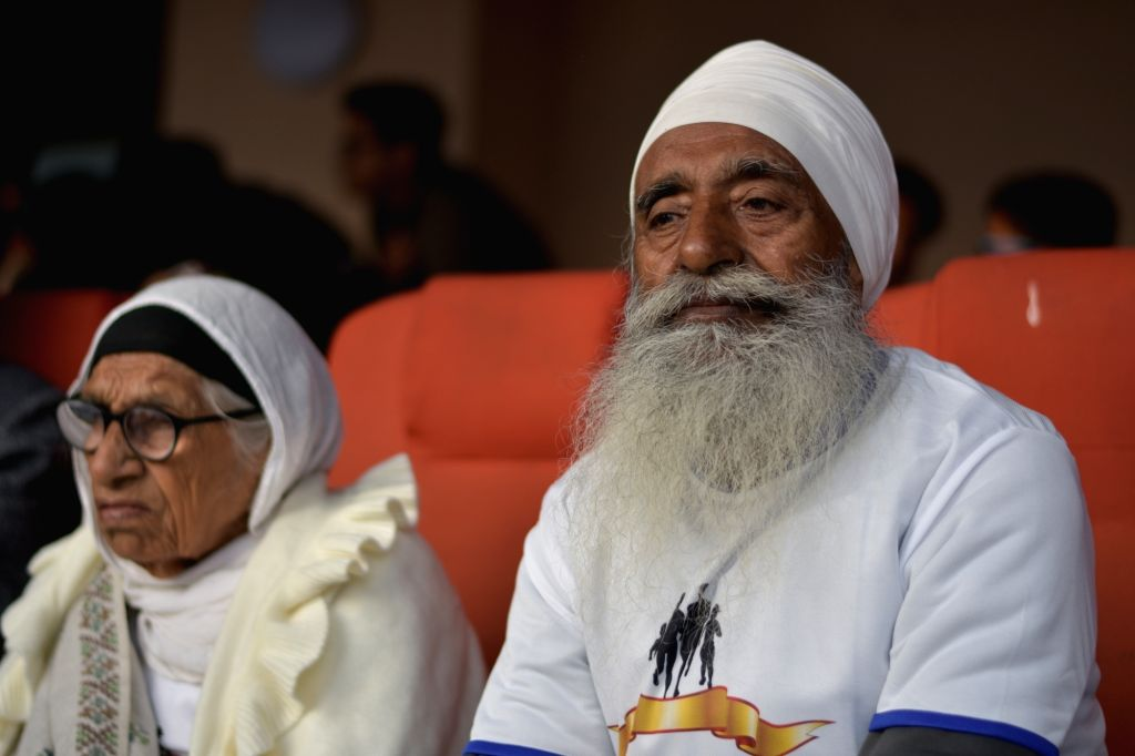 Maan Kaur Singh (Age:102) and Gurdev Singh (Age :80), the mother-son duo. Mann Kaur hit the headlines by becoming world's fastest centenarian at American Masters Games  in Vancouver in 2017. - Maan Kaur Singh and Gurdev Singh