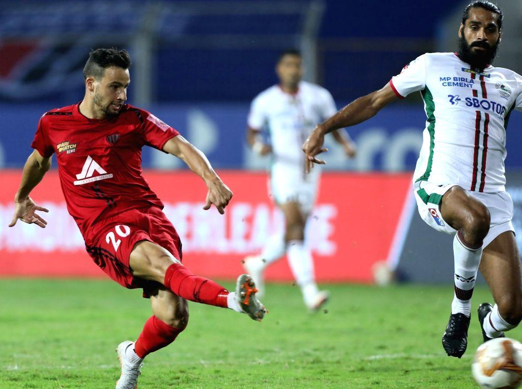 Machado, Gallego score as NorthEast beat Bagan 2-1
