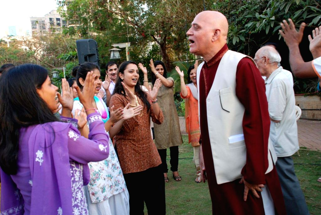"Madan Kataria founder of ""Laughter Club"" promoted by SAB TV."