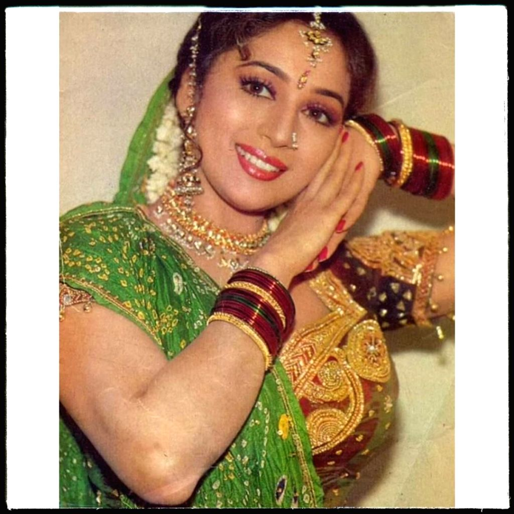 Madhuri celebrates 27 years of 'Anjaam', calls it one of her 'memorable films'.