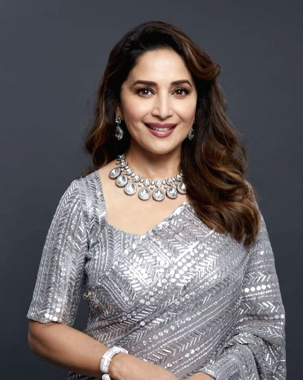 Madhuri Dixit is back on set, days after second dose of Covid vax - Madhuri Dixit